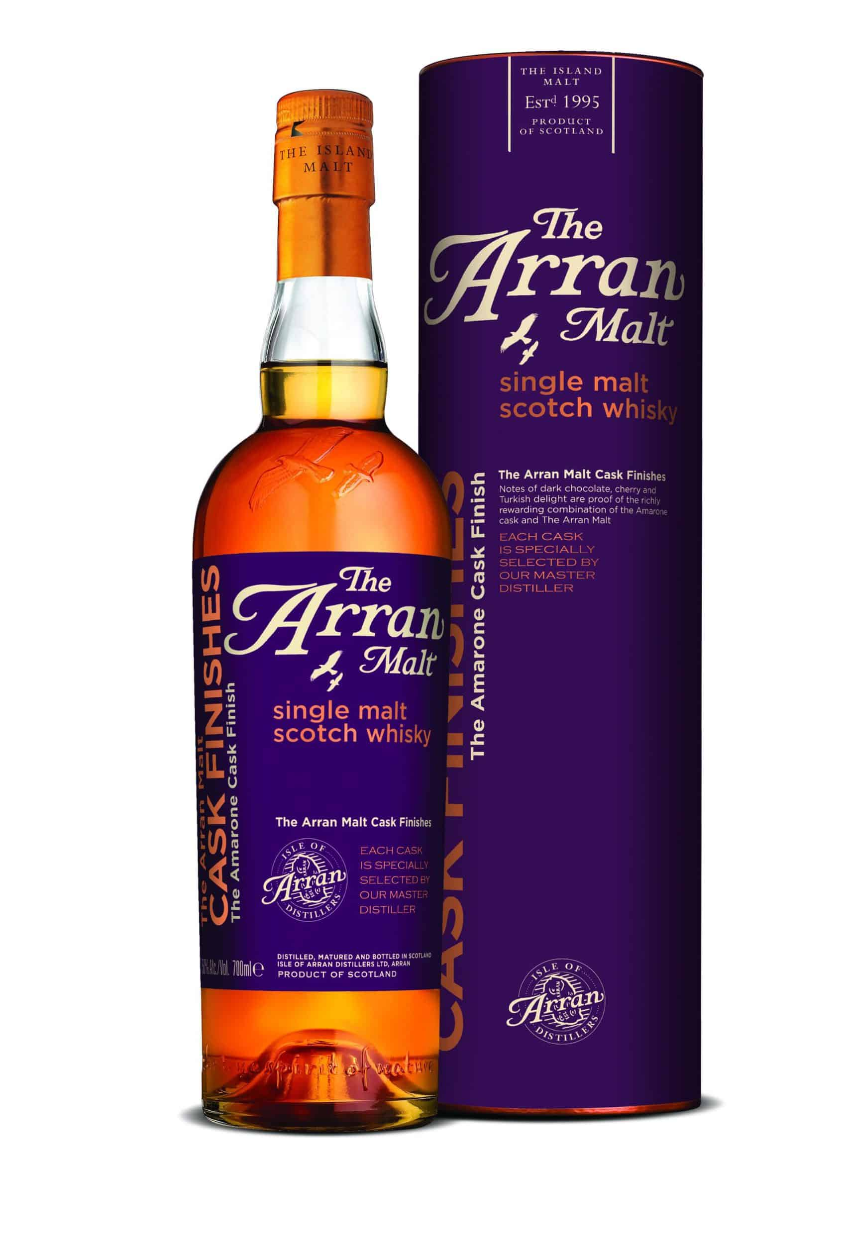 Arran cask finish amarone featured