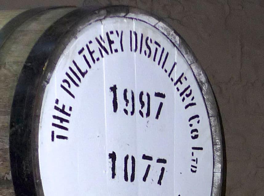 old pulteney cask