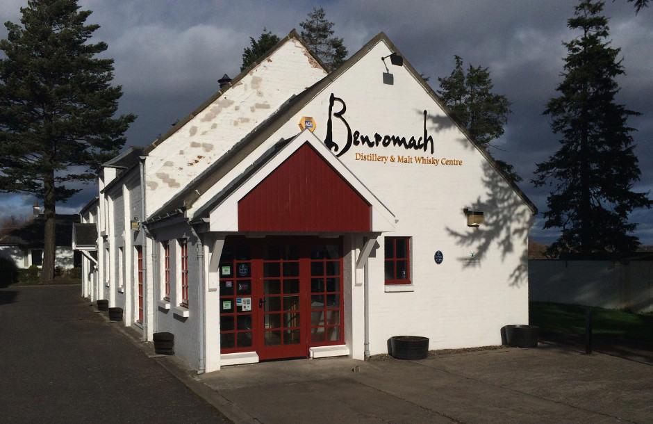 Benromach visit 1