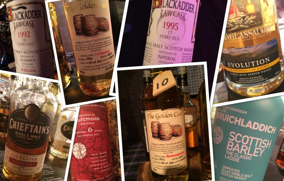 Collage Whisky Weekend Twente