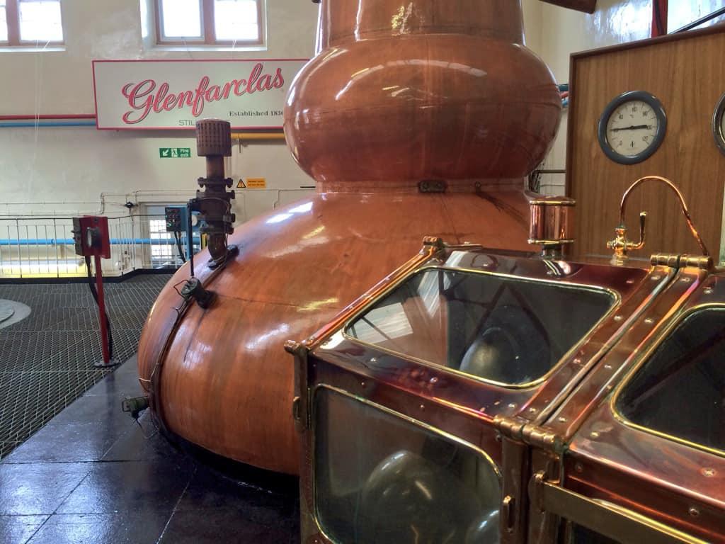 Glenfarclas distillery visit 6