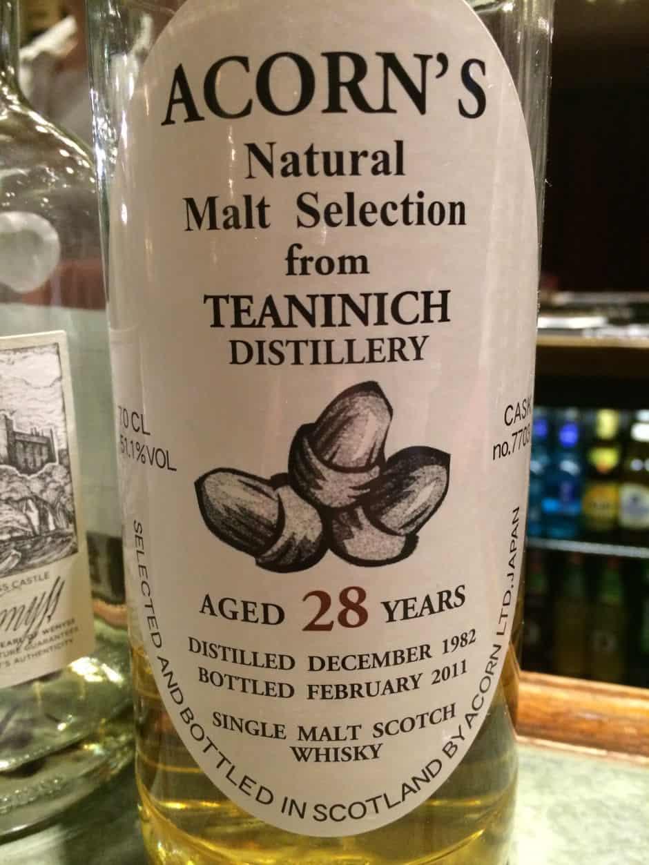 Teaninich 1982 acorn