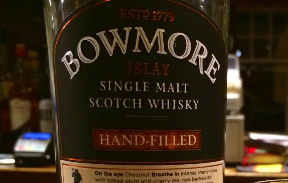 Bowmore 1997 2013 handfilled (featured)