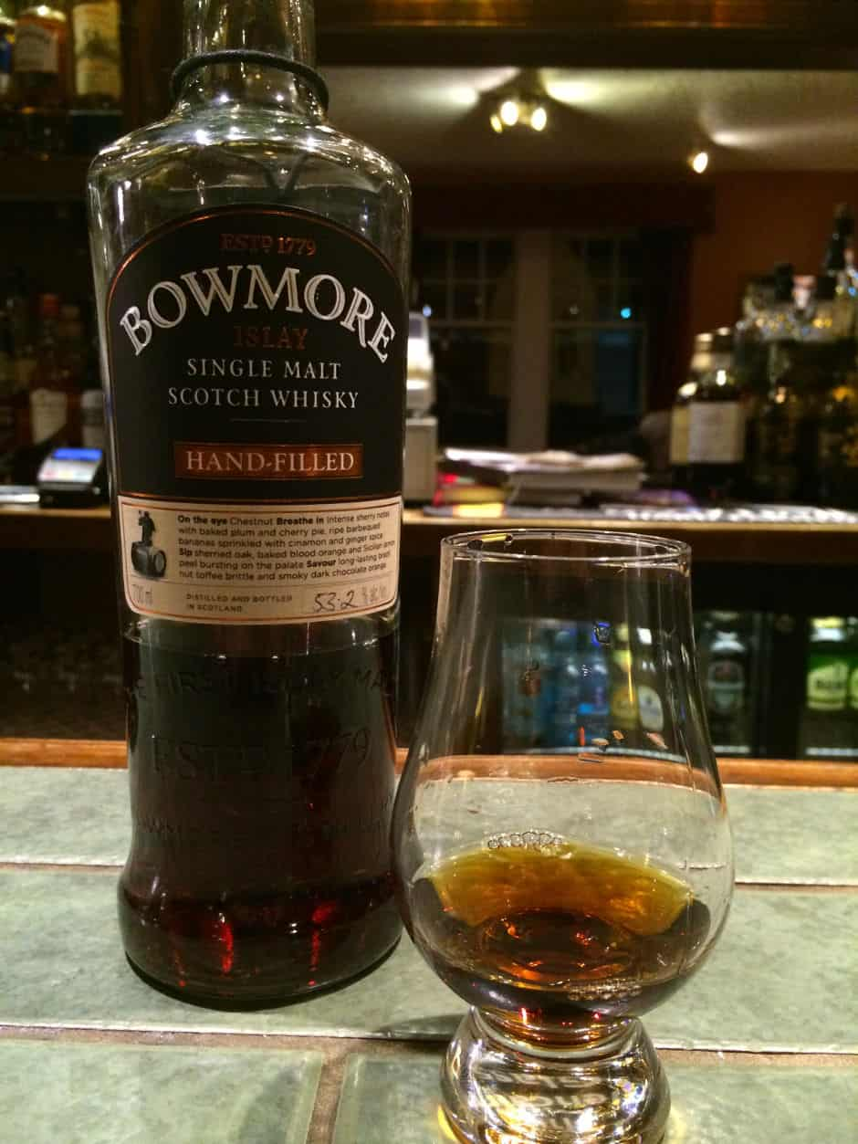 Bowmore 1997 2013 handfilled