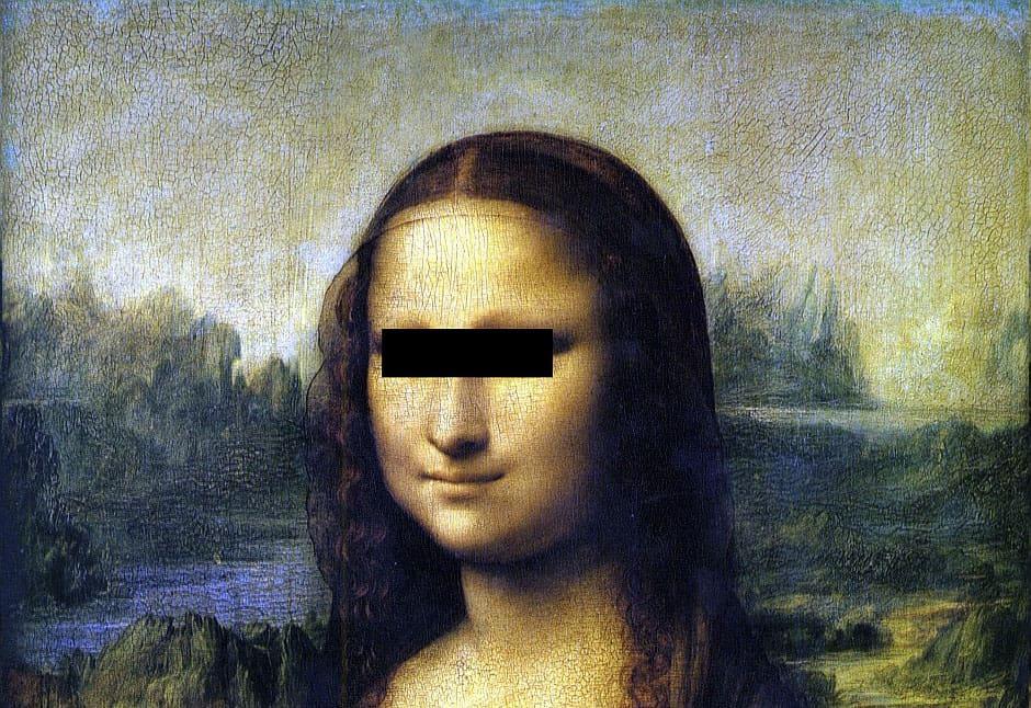 blind mona lisa