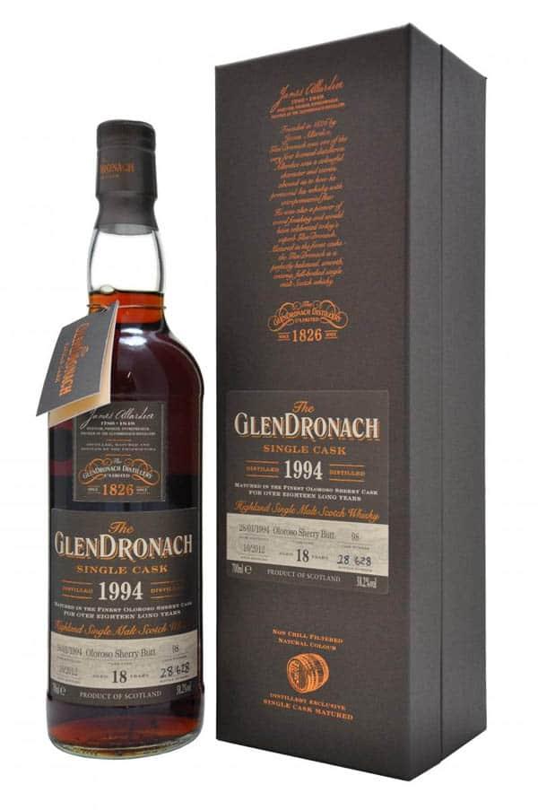 Glendronach 1994 2012 cask 98