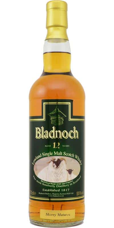 Bladnoch 12y Sherry Matured