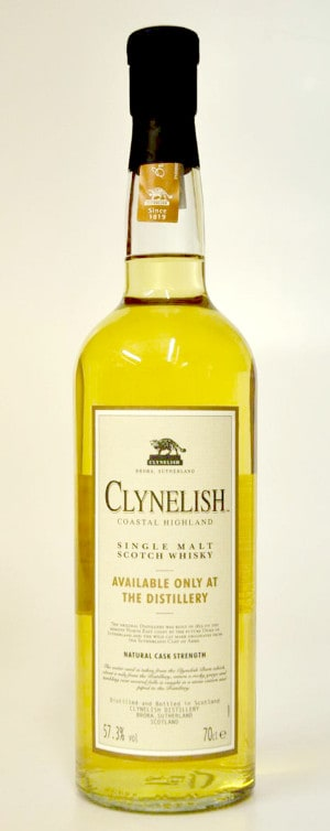 Clynelish available only at the distillery