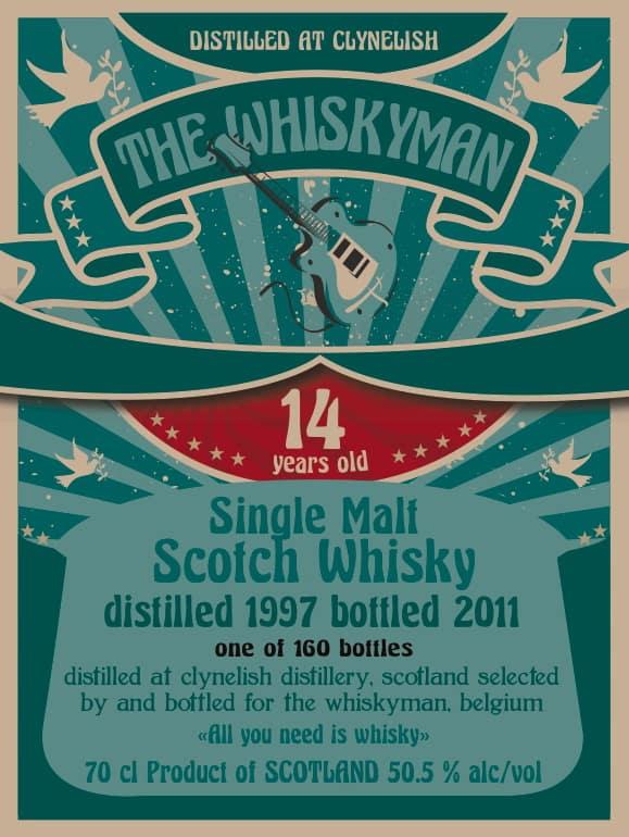 clynelish_1997_the whiskyman