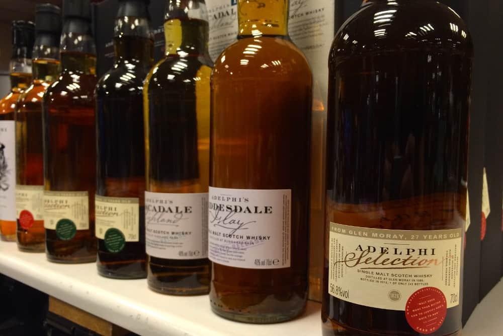 Adelphi bottles