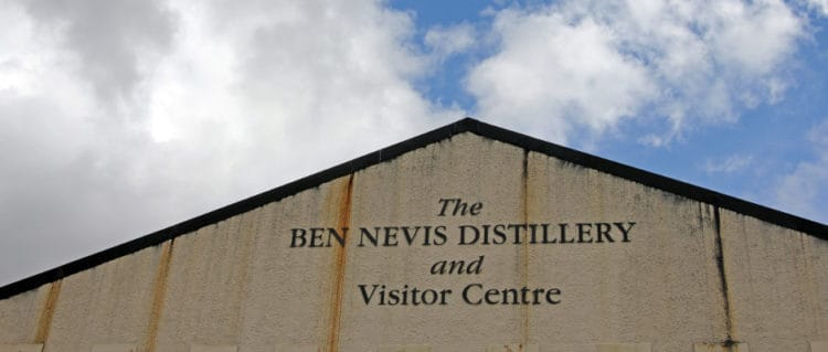Ben Nevis distillery (flickr mightmightymatze)