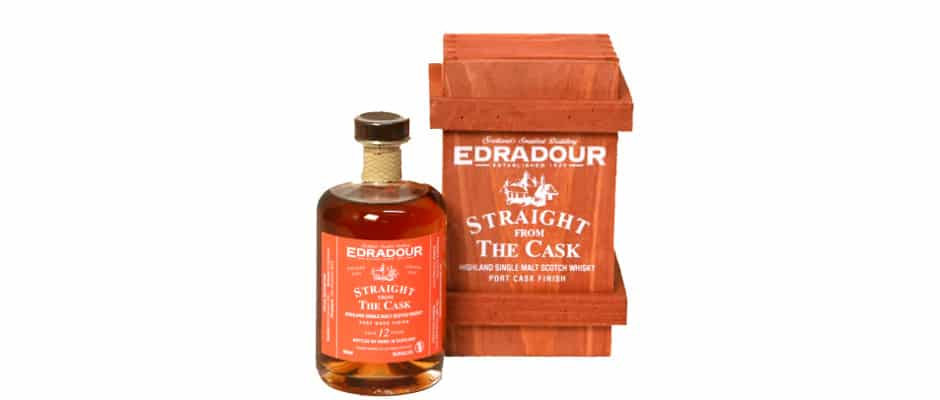 Edradour Straight from the cask 2001 12 years port