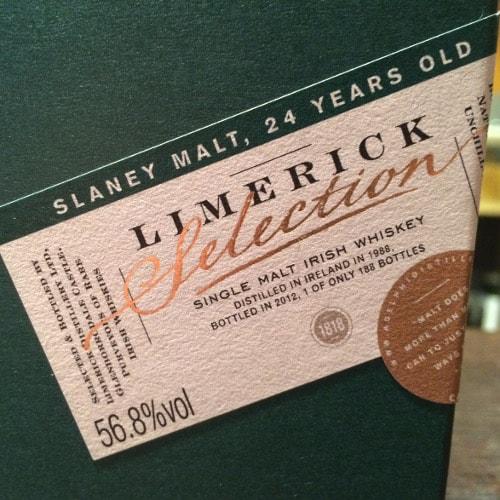 Limerick 24yo 1988 adelphi