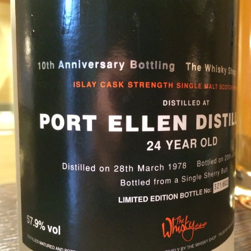 Port Ellen 24yo 1978 DL Whisky Shop