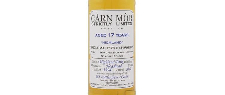 Highland park 1994 2012 carn mor