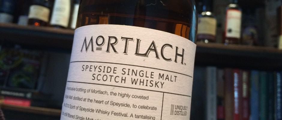 Mortlach Spirit of Speyside 2013