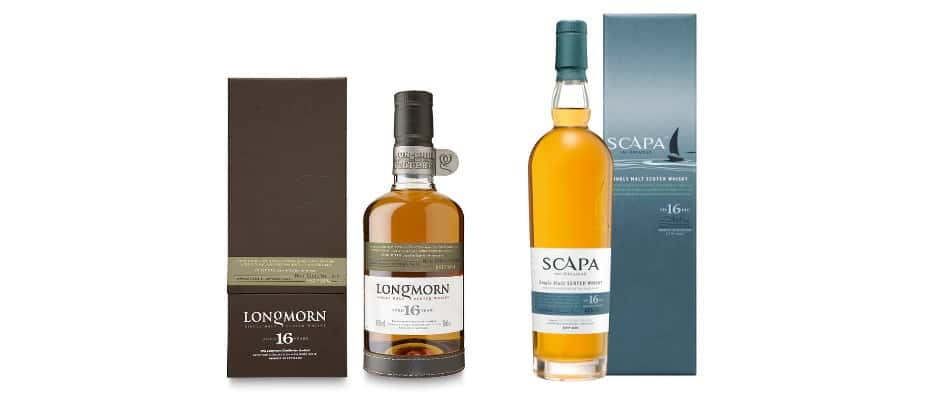 scapa 16 and longmorn 16