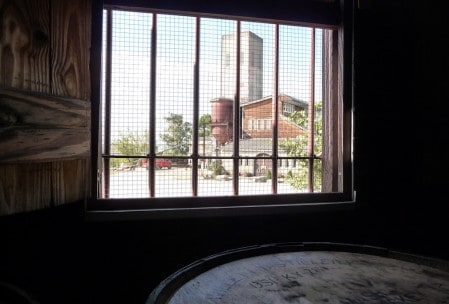 View from the filling station.