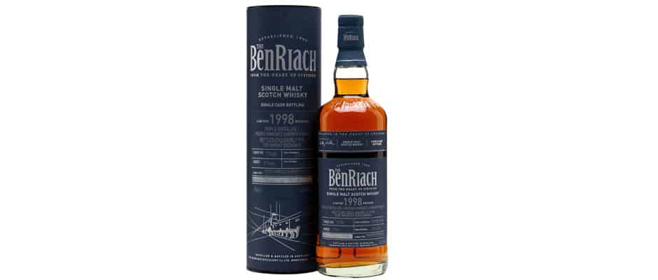 benriach 1998 2015 the whisky exchange
