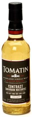 tomatin contrast bourbon matured
