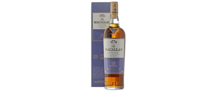 macallan 18yo fine oak