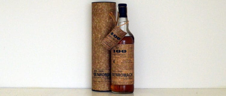 Benromach 1981 1998 Centenary Edition