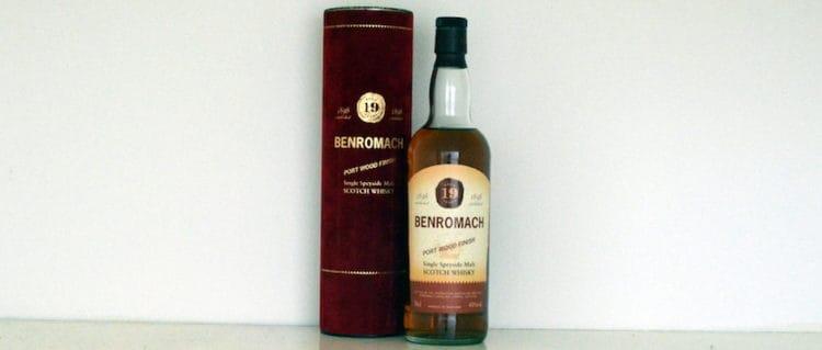 Benromach 19yo Port Wood Finish