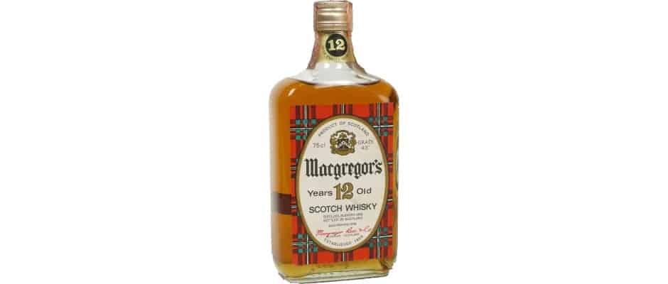 MacGregors 12yo Scotch Whisky