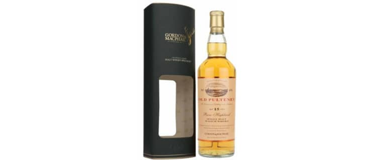Old Pulteney 15yo Gordon MacPhail Distillery Label