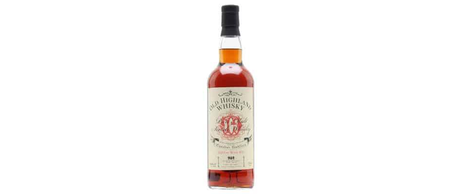 Clynelish 18yo The Whisky Exchange Retro Label