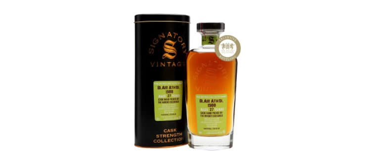 Blair Athol 1988 2016 Signatory Vintage The Whisky Exchange