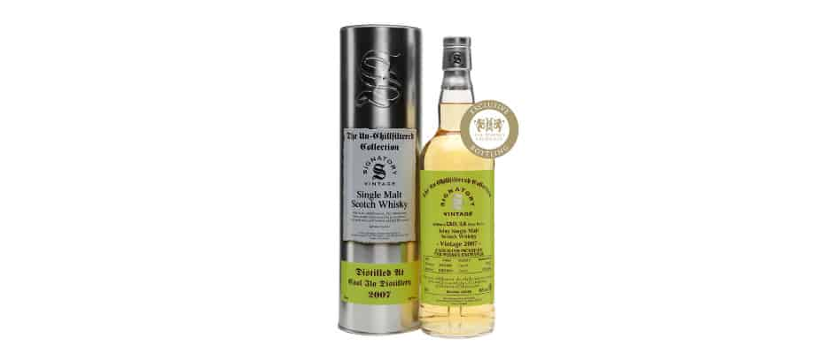 Caol Ila 2007 2016 Signatory Vintage for The Whisky Exchange