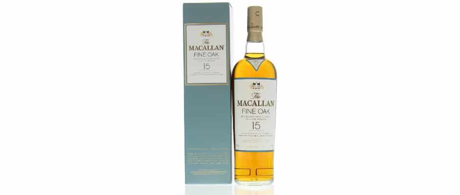 Macallan 15yo fine oak