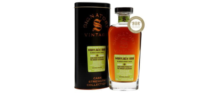 Mortlach 1998 2016 signatory vintage the whisky exchange