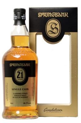 Springbank 21 Single Cask Nectar Belgium