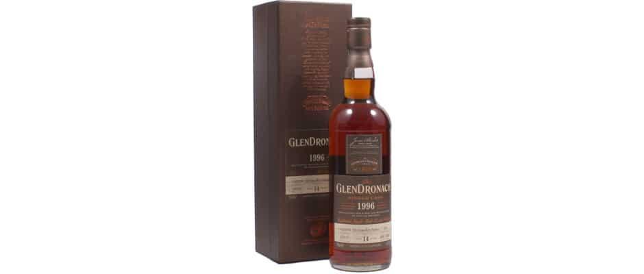 Glendronach 1996 De monnik dranken