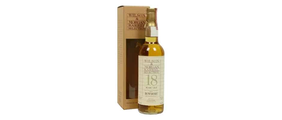 bowmore 1975 1994 18 years old wilson morgan