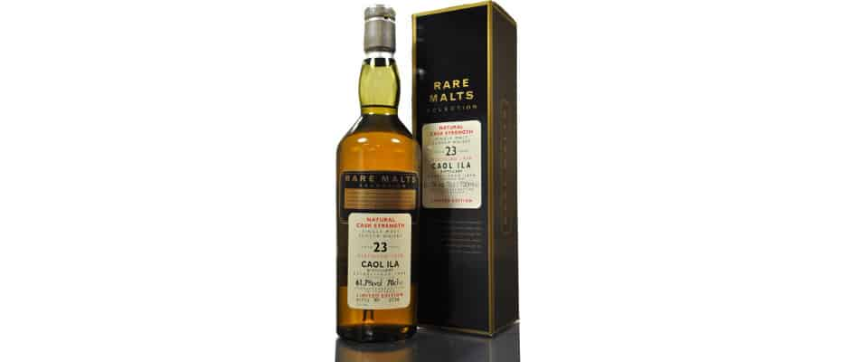 caol ila 1978 23 years old rare malts