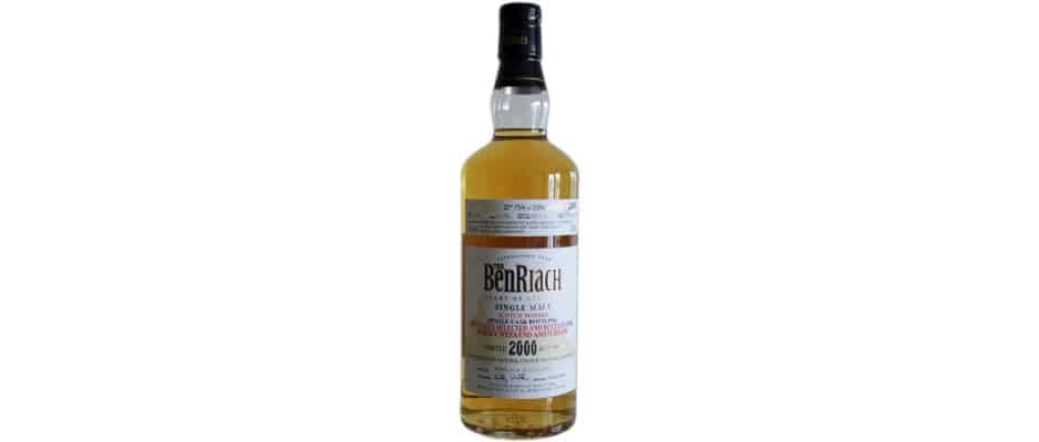 BenRiach 2000 12 Years Old Whisky Weekend Amsterdam