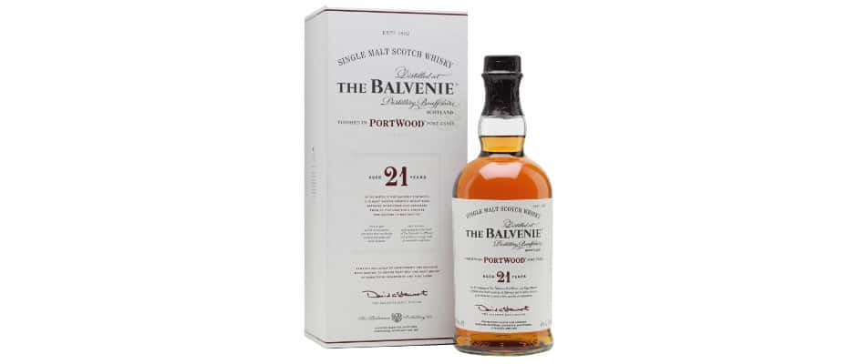 the balvenie 21 years old portwood finish