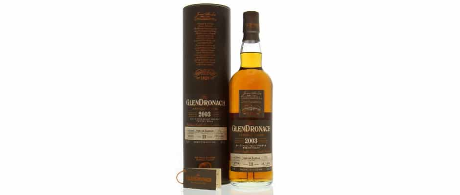glendronach 2003 13 years old the duchess