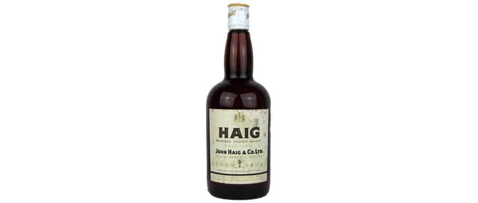 Haig Gold Label Blended Scotch 1970s