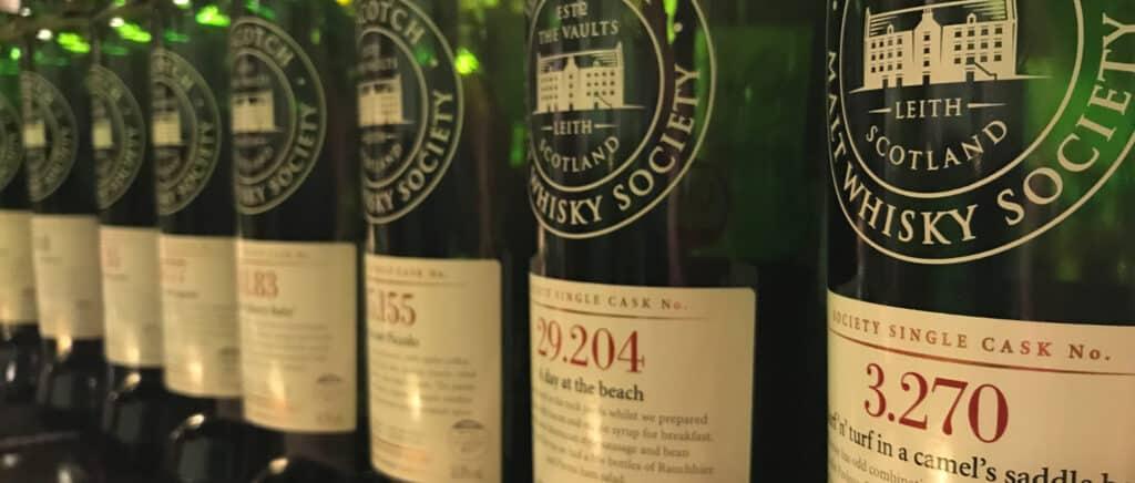 Scotch Malt Whisky Society Tasting 3