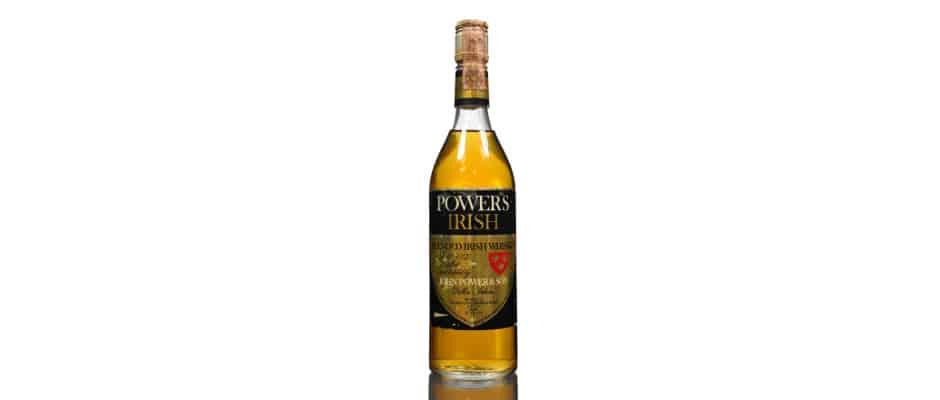 Powers Gold Crest Label johns lane distillery