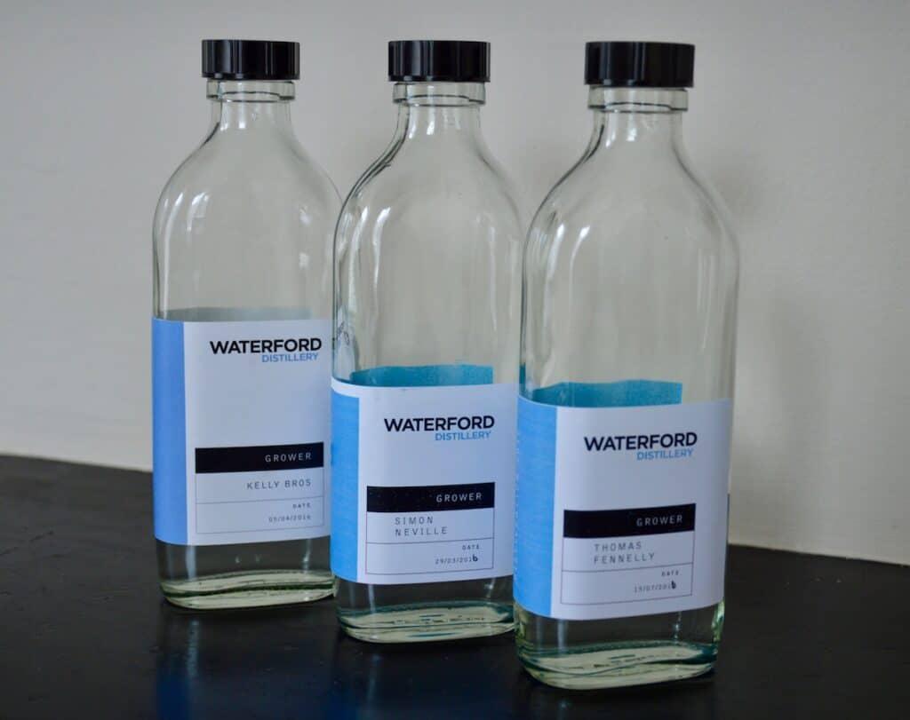 Spirit samples Waterford