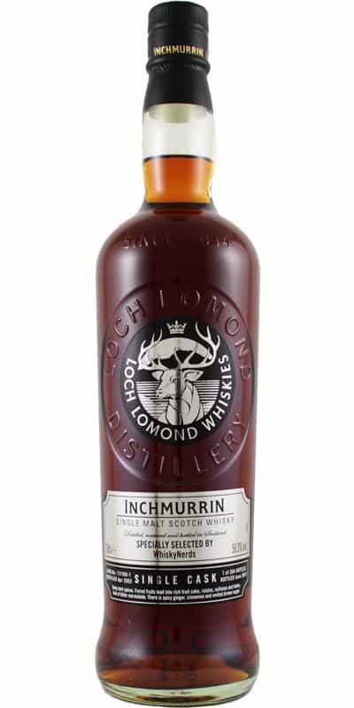 Inchmurrin 2003 14 years old whiskynerds sherry 2