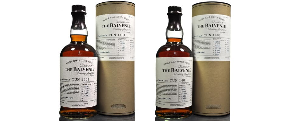 The Balvenie Tun 1401 Batch 5 & 8