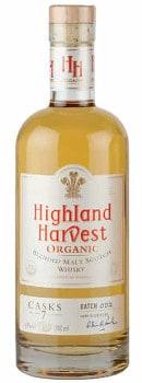 Highland harvest organic blended malt scotch whisky