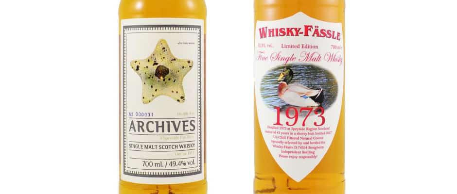 Speyside Region 1973 archives whisky-fassle