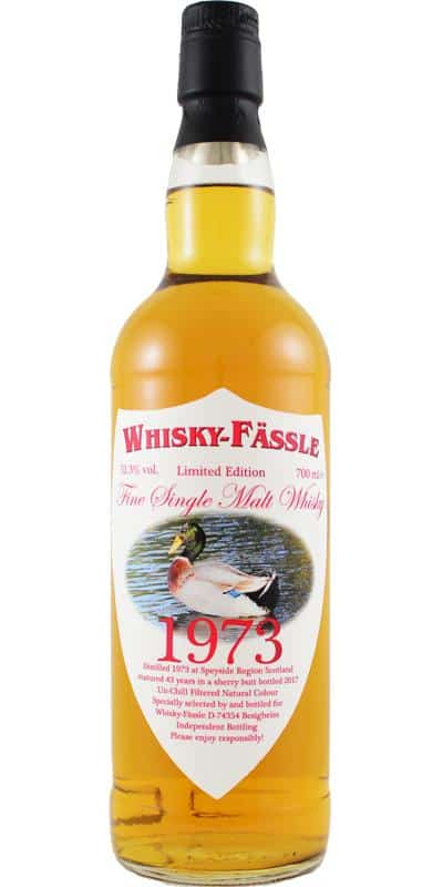 Speyside region 1973 43 years old Whisky-fassle